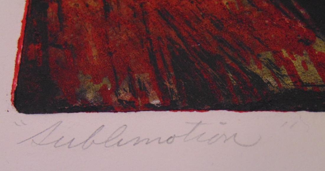 Clinton Cline, Color Etching & Aquatint, Signed - 3