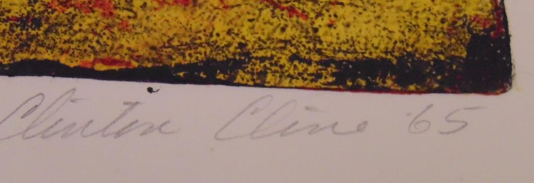 Clinton Cline, Color Etching & Aquatint, Signed - 4