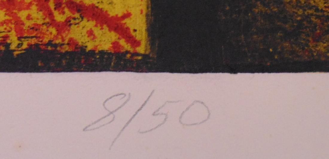 Clinton Cline, Color Etching & Aquatint, Signed - 5