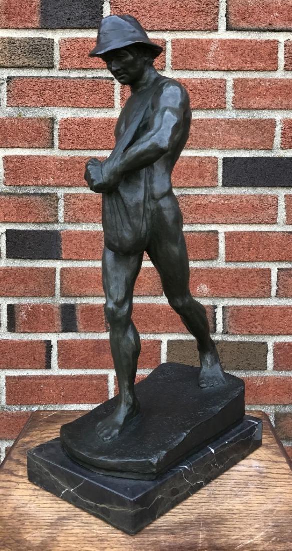Georg Meyer-Steglitz  (1868 - 1929) Bronze
