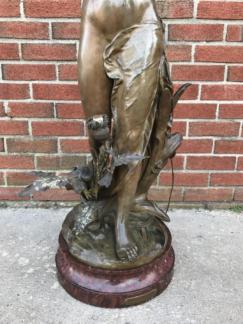 François Laurent Rolard (1842 - 1912) Bronze. - 7