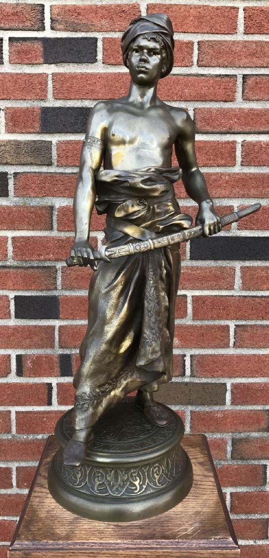 Clement Leopold Steiner (1853 - 1899) Bronze.