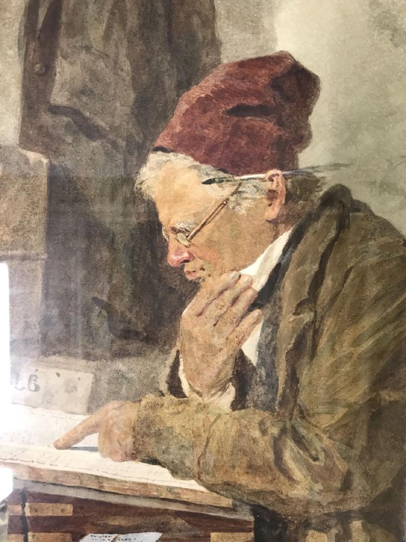 Joseph H Barnes (fl.1867 - 1887) Watercolor. - 3