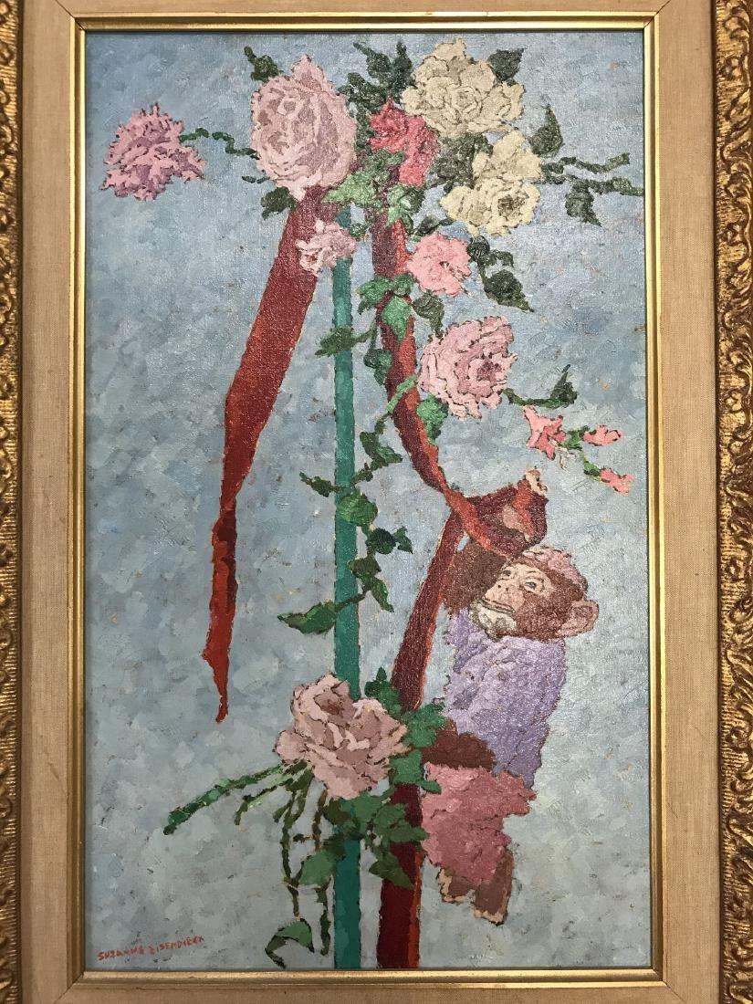 Suzanne Eisendieck (1908 - 1998) Oil on Canvas. - 2
