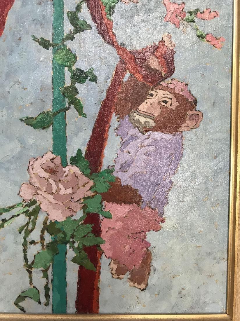 Suzanne Eisendieck (1908 - 1998) Oil on Canvas. - 3