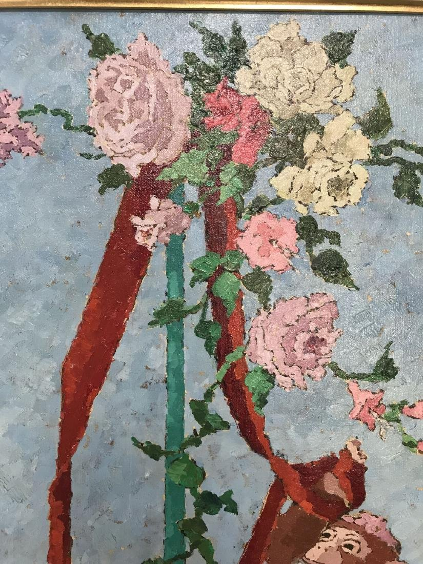Suzanne Eisendieck (1908 - 1998) Oil on Canvas. - 4