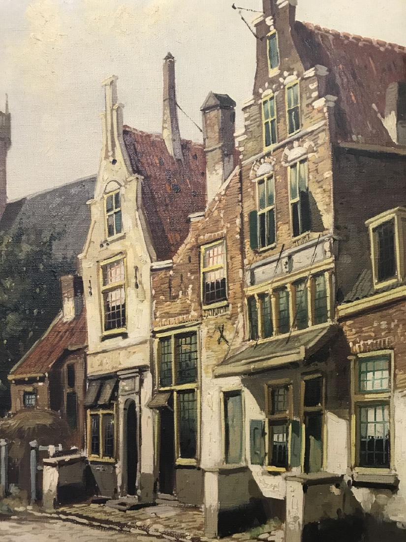 Heen Hoven  (20th century) Oil on Canvas. - 4