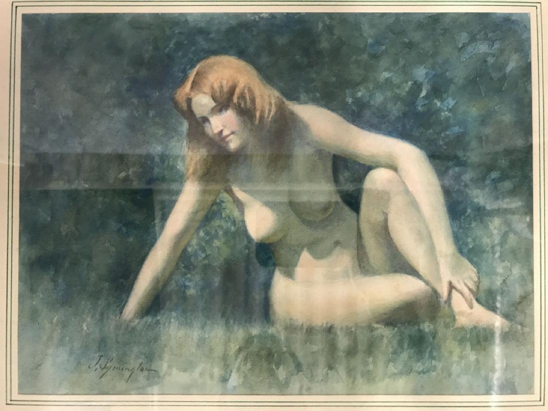 Juanita Symington  (1904 - 1980) Watercolor. - 2