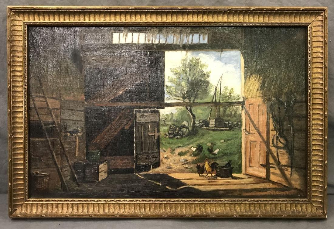 Frank Henry Shapleigh  (1842 - 1906) Oil on Canvas