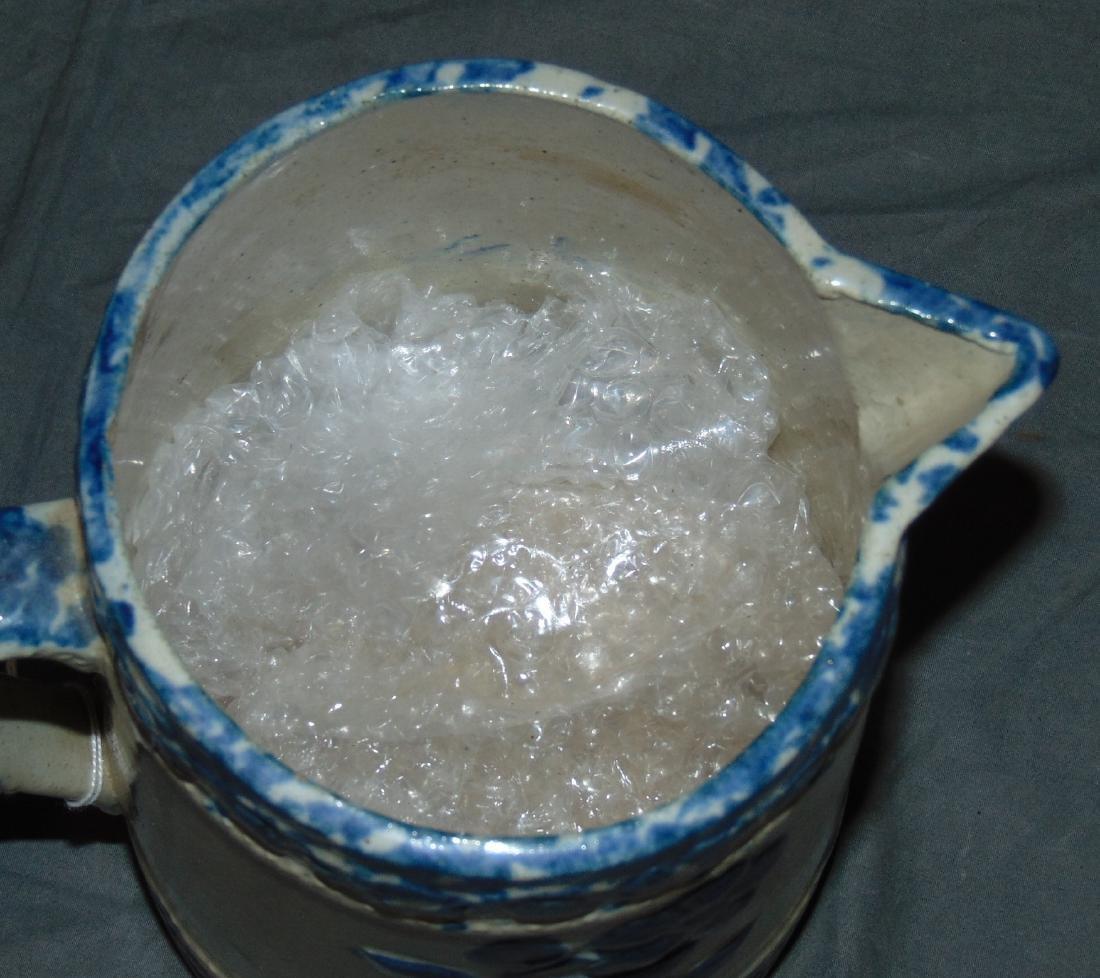 Stoneware Pitcher. - 3