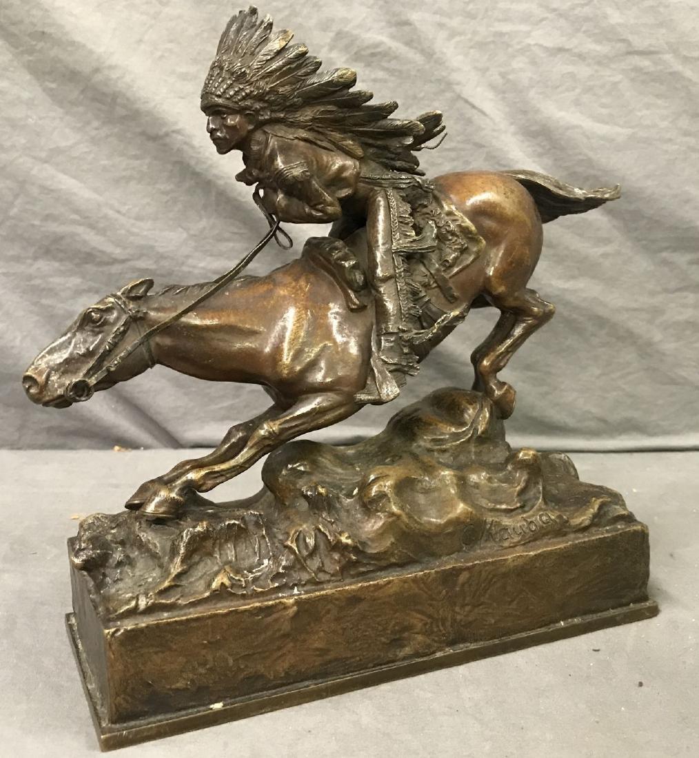 Carl Kauba  (1865 - 1922) Bronze.