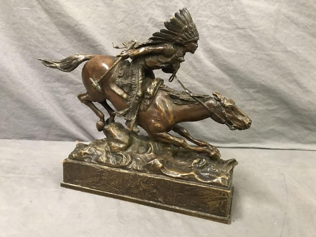 Carl Kauba  (1865 - 1922) Bronze. - 3