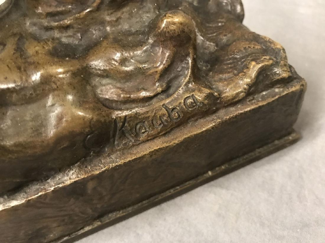 Carl Kauba  (1865 - 1922) Bronze. - 4