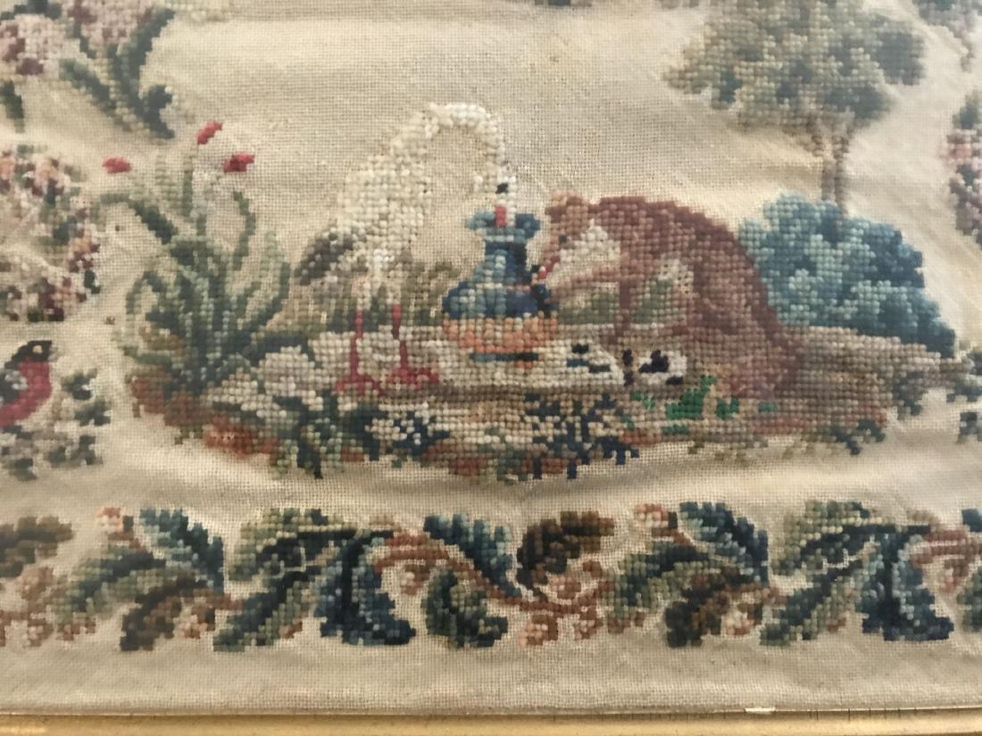 19th Century Needlepoint. 1862. - 3