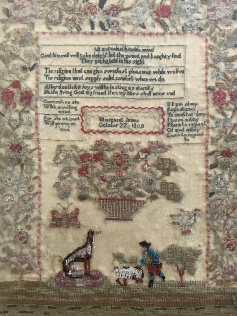 Early Sampler. Dated 1800 - 2