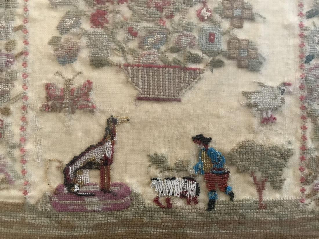 Early Sampler. Dated 1800 - 4