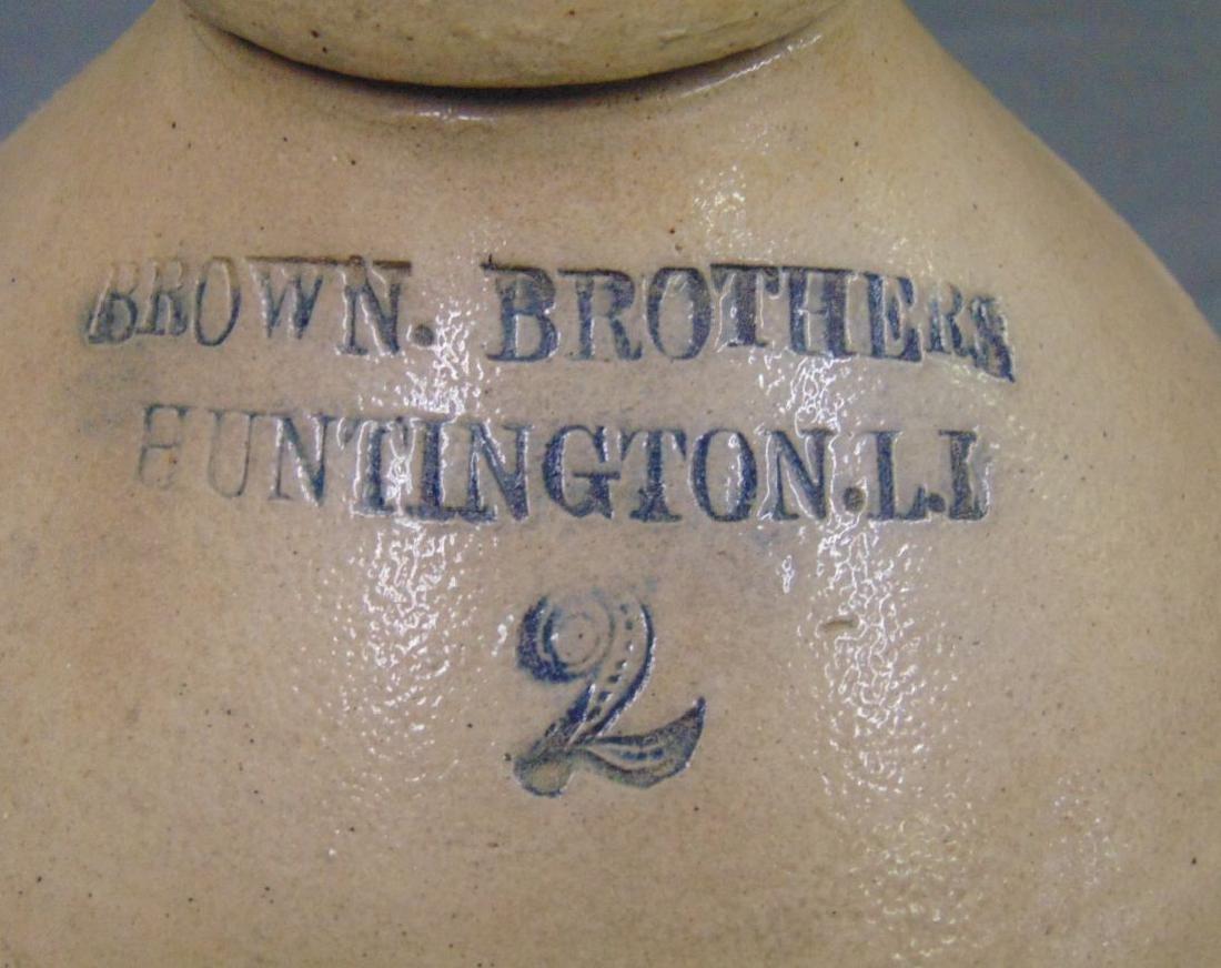 Brown Brothers Huntington Stoneware Jug. - 2