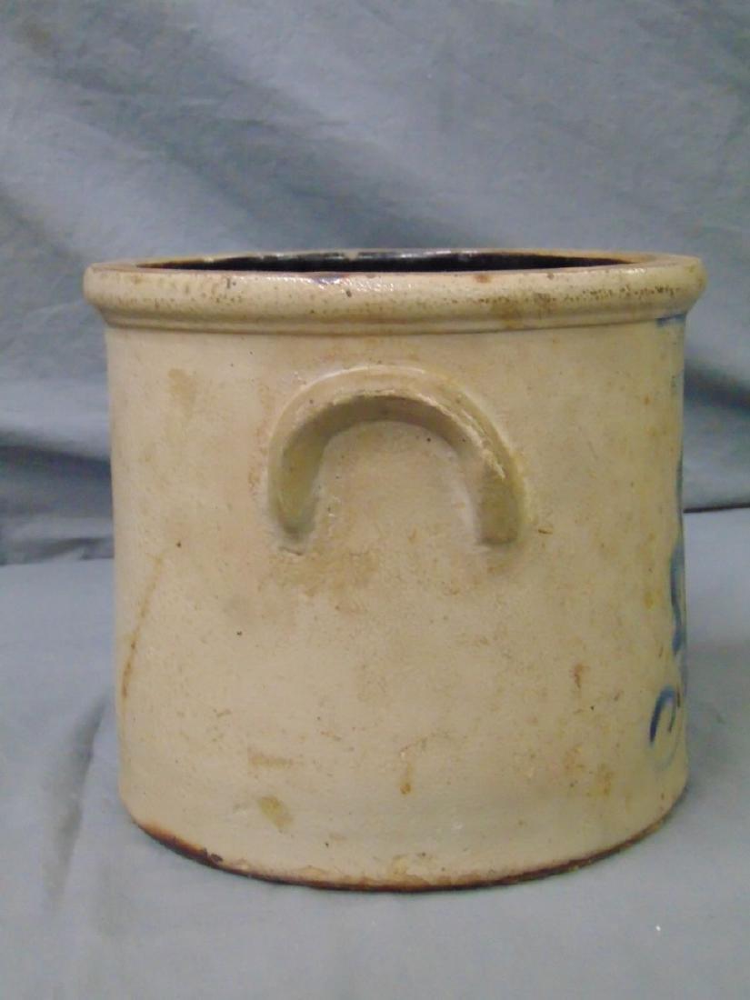 Ottman Brothers Fort Edward NY Stoneware Crock. - 4
