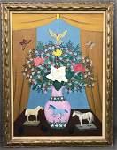 Lawrence Lebduska. 1894-1966. Oil on Canvas.