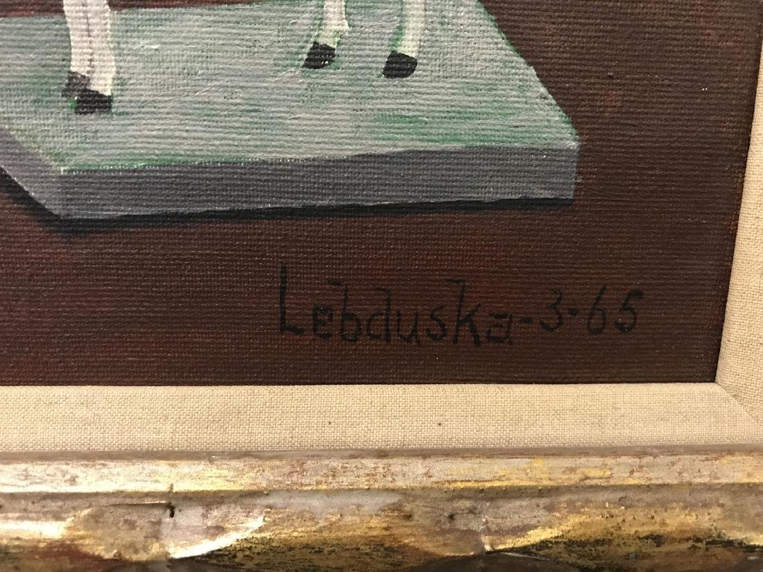 Lawrence Lebduska. 1894-1966. Oil on Canvas. - 6