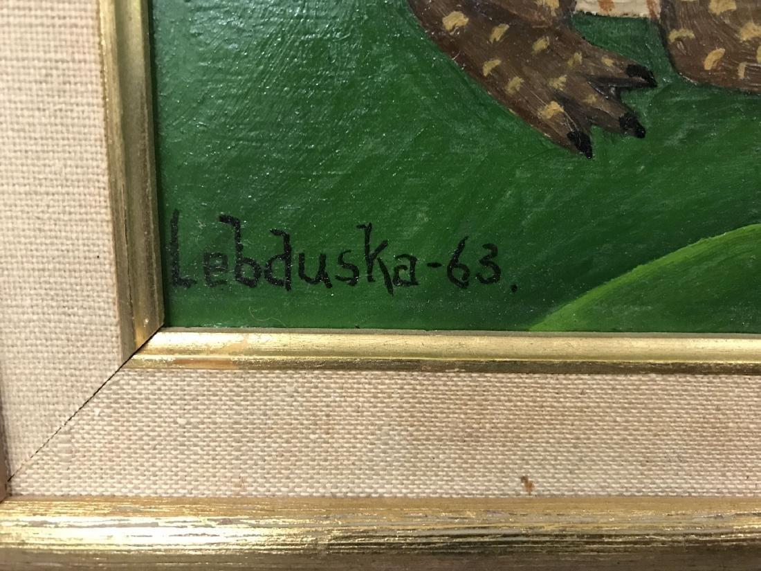 Lawrence Lebduska. 1894-1966. Oil. - 4