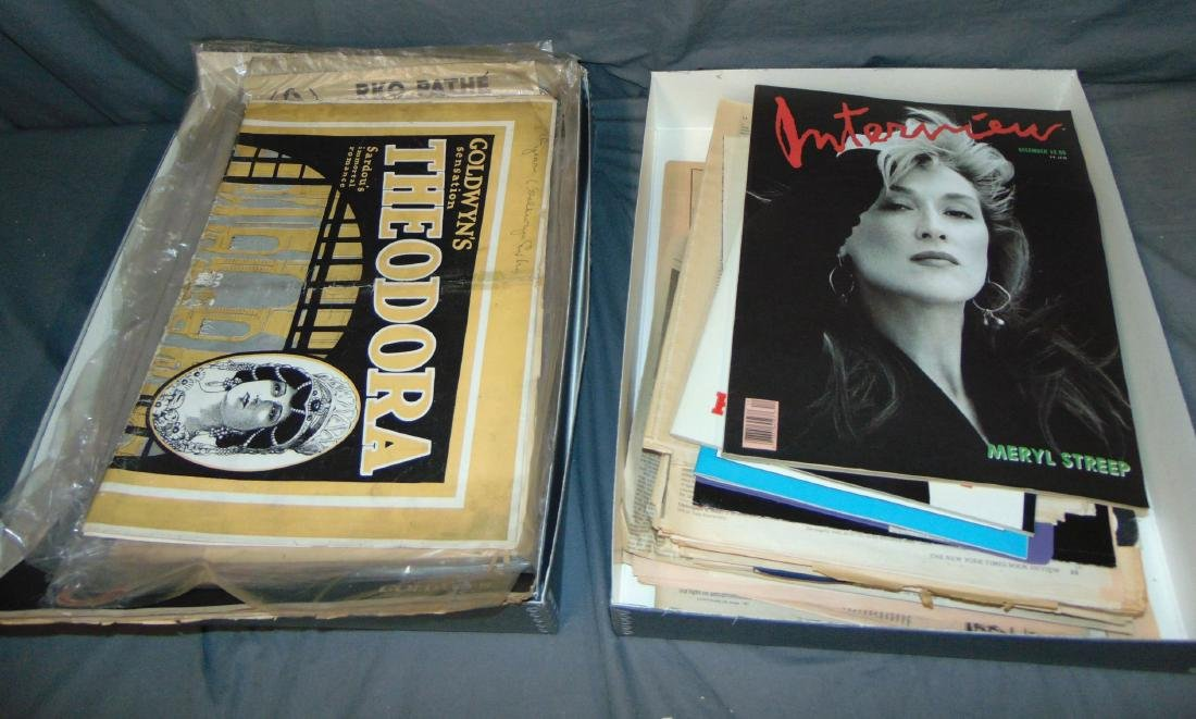 Vintage Paper Lot. Press and Campaign Books.