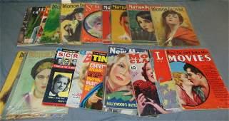 Vintage Movie Magazine Lot