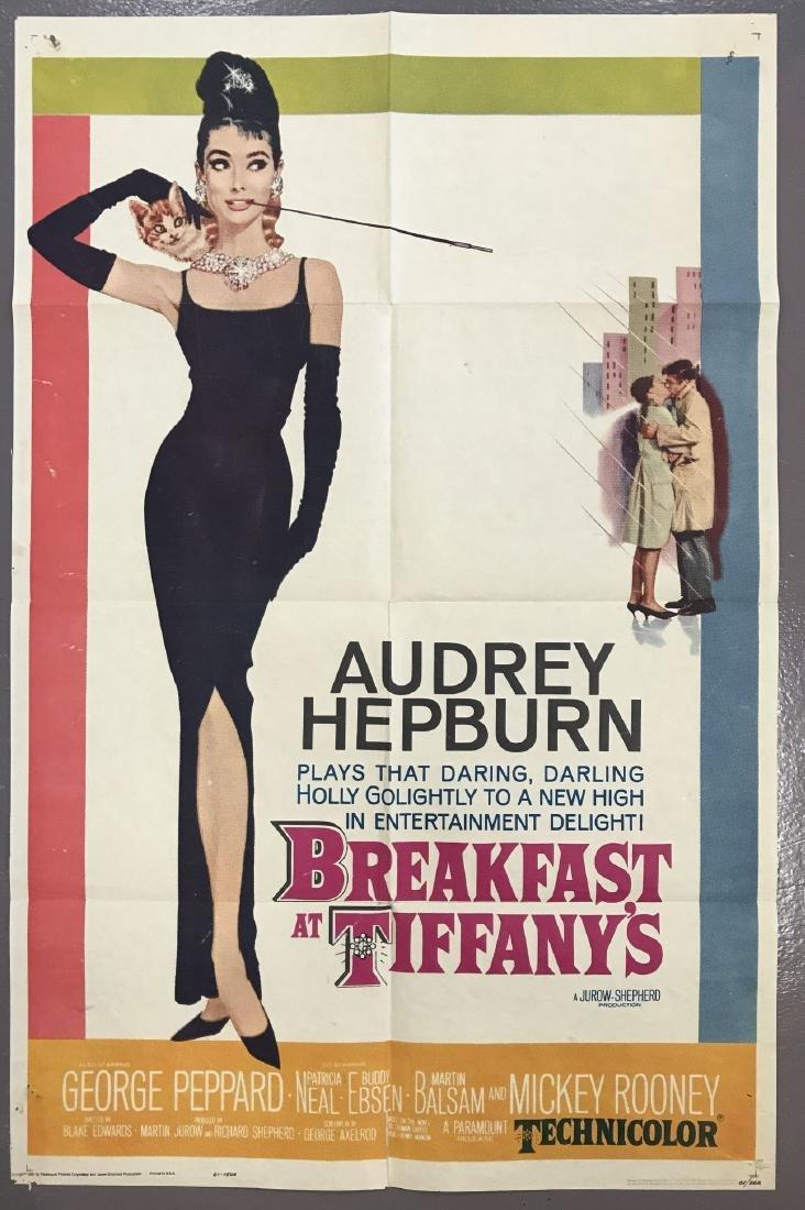 Breakfast at Tiffany's. One Sheet.