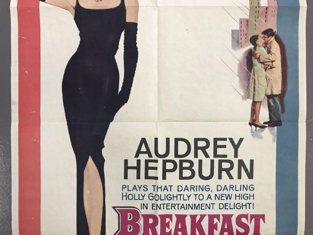 Breakfast at Tiffany's. One Sheet. - 3