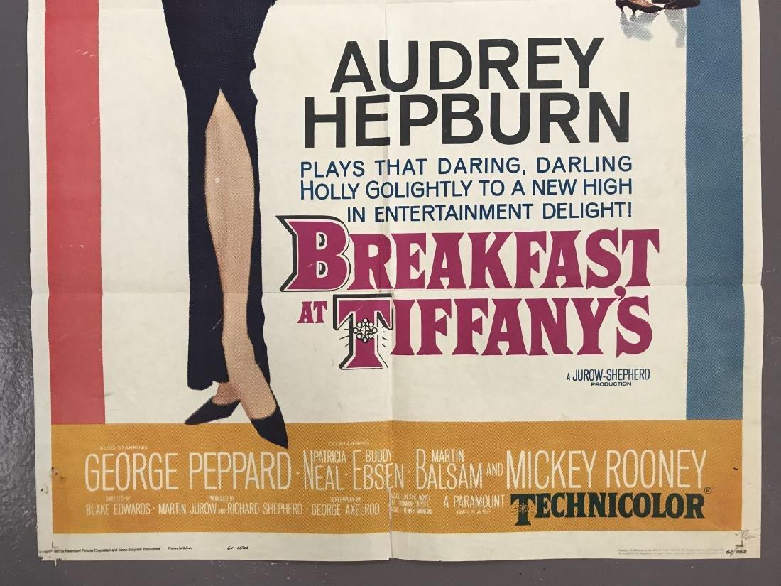 Breakfast at Tiffany's. One Sheet. - 4