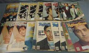 Large Lot of Rolling Stones Magazines