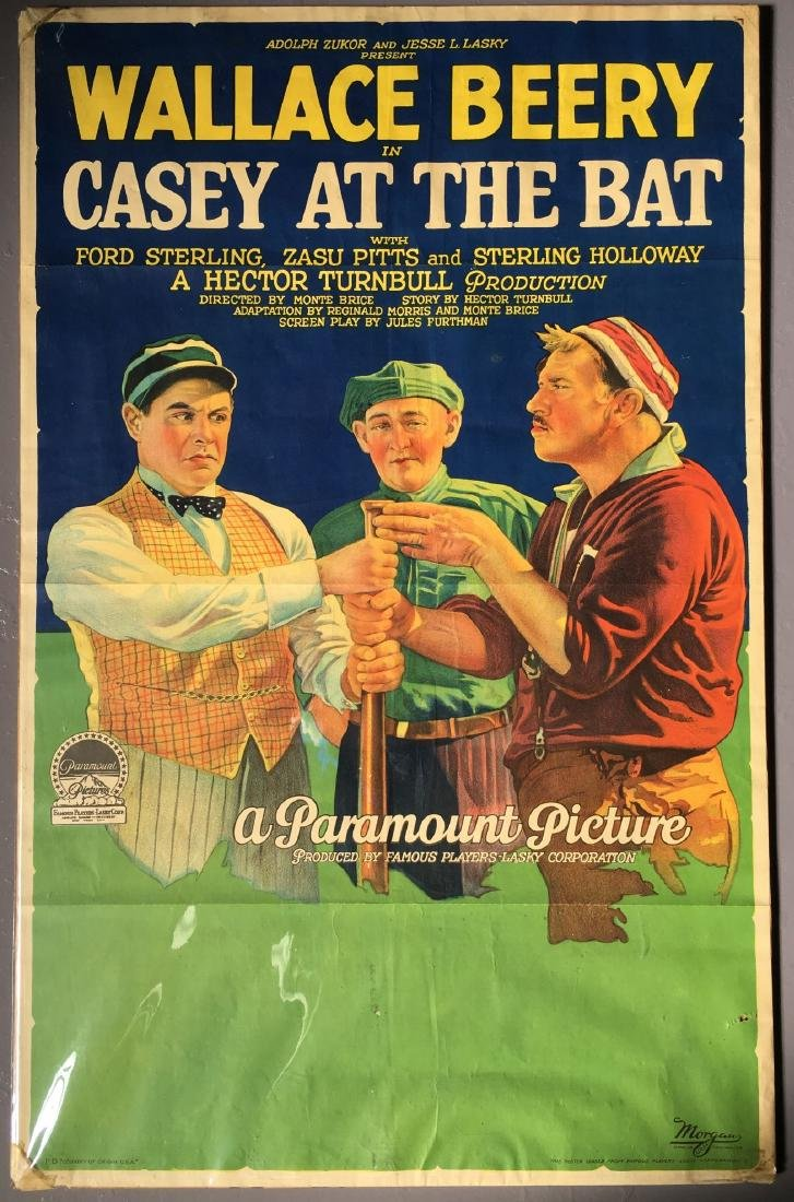 1927 Casey at the Bat, One Sheet Poster, Style B