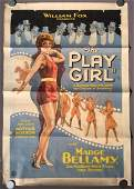 1928 The Play Girl One Sheet Poster