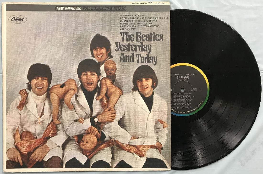 Beatles Yesterday & Today 3rd State Butcher Cover