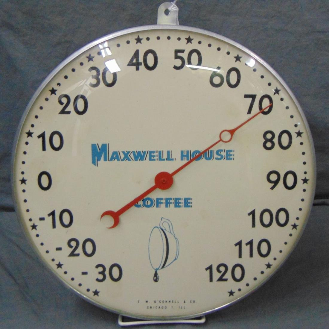 Maxwell House Coffee Dial Thermometer.