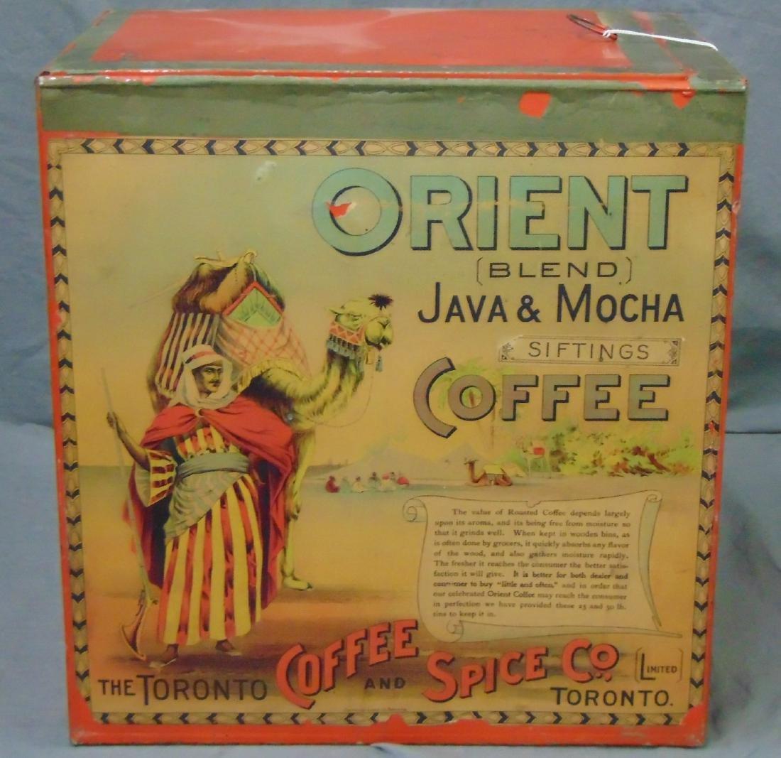 Orient Blend Java & Mocha Store Bin.