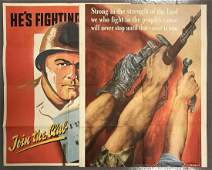 (2) World War Two Posters