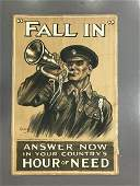 World War One Poster Fall In