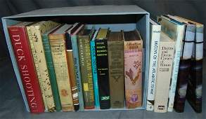 Sporting and Hunting Book Lot.