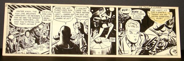 4004: MILTON CANIFF. ORIGINAL TERRY & THE PIRATES.