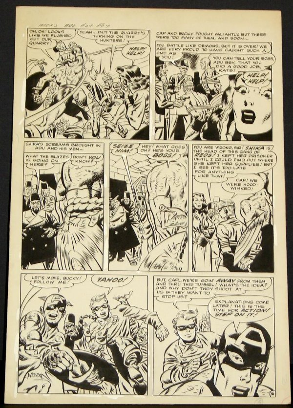 4006: MORT LAWRENCE MEN'S ADVENTURES PAGE.