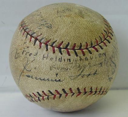 CIRCA 1920'S PHILA. A'S BASEBALL