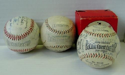 11: 3 SIGNED PACIFIC LEAGUE BASEBALLS