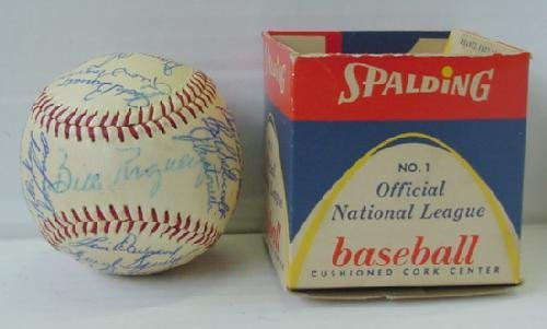 14: EARLY 1960'S NEW YORK GIANTS TEAM BALL
