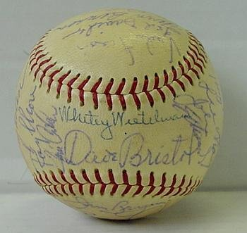16: 1967 CINCINNATI REDS TEAM BALL