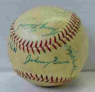 1964 ST. LOUIS CARDINALS TEAM BALL