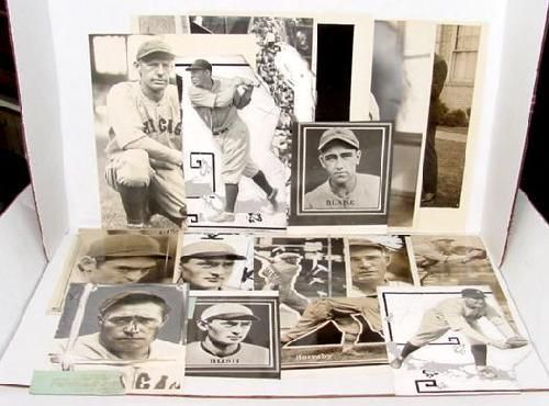 14 PRESS PHOTOS OF EARLY CHICAGO CUBS