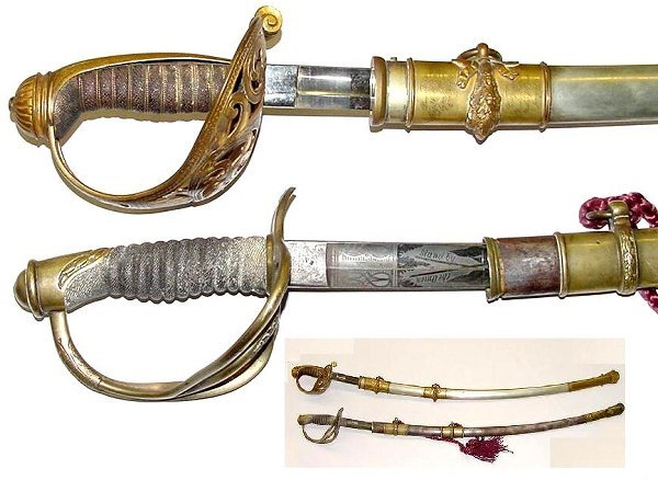 224: FABULOUS PAIR OF CIVIL WAR SWORDS