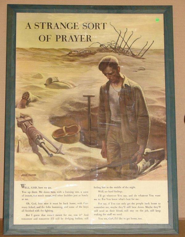 1003: ORIG WWII POSTER - JOHN FALTER