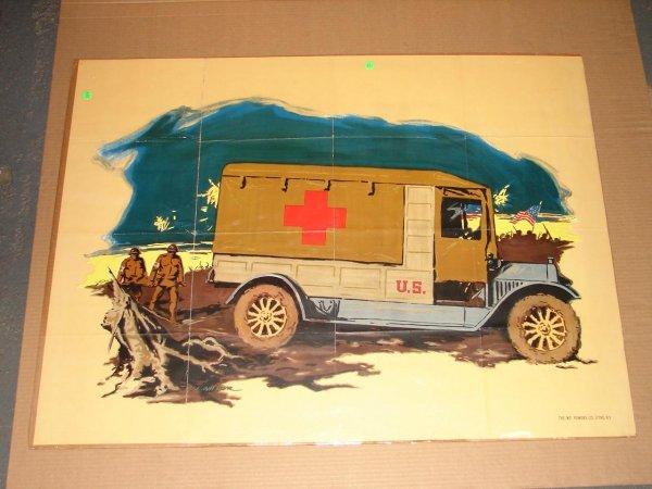 1007: ORIG. WWI POSTER - L.L. WILBUR